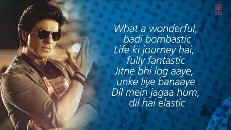 Chennai Express Title Song With Lyrics _ Shahrukh Khan, Deepika Padukone
