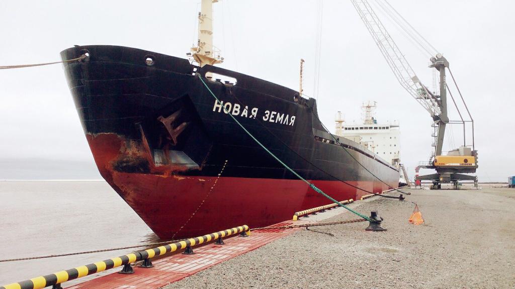 Власти Дании арестовали российское судно «Новая Земля»