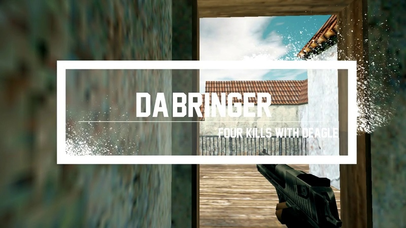 -dA-briNgeR | FOUR KILLS WITH DEAGLE