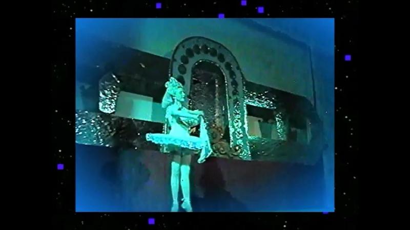 РУССКИЙ ТАНЕЦ - 1997 год - школьный театр танца - танцует ученица 6 класса - НАДЕЖДА ПАВЛОВА