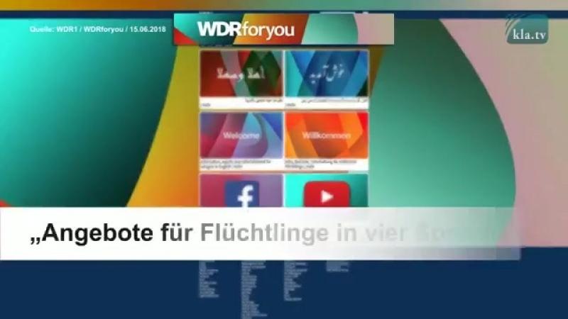 Der WDR verkündet ein Bleiberecht für alle Im Auftrag der Regierung
