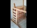 Установка двухъярусной кроватки ( столярная мастерская Иван Пчела)