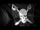 Pirate Flag animation background video loop