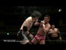 MAYBACH Taniguchi Hajime Ohara Mitsuhiro Yoshida vs Takashi Sugiura Yoshinari Ogawa LEONA Riki Choshu Power Hall 2018