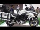2018 Benelli TRK 502 Walkaround 2017 EICMA Milan Motorcycle Exhibition