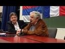 Conférence Conferencia Jean Luc Mélenchon Jose Mujica VOSTFR