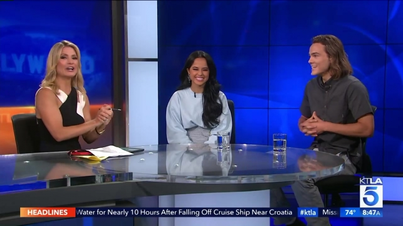 Becky G Alex Neustaedter on their New Movie A.X.L