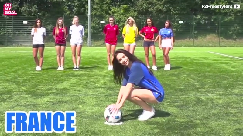 Sexiest penalty Shoot out ever!