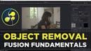 Object Removal/Clone Stamping! Davinci Resolve 15 Fusion Fundamentals Tutorial