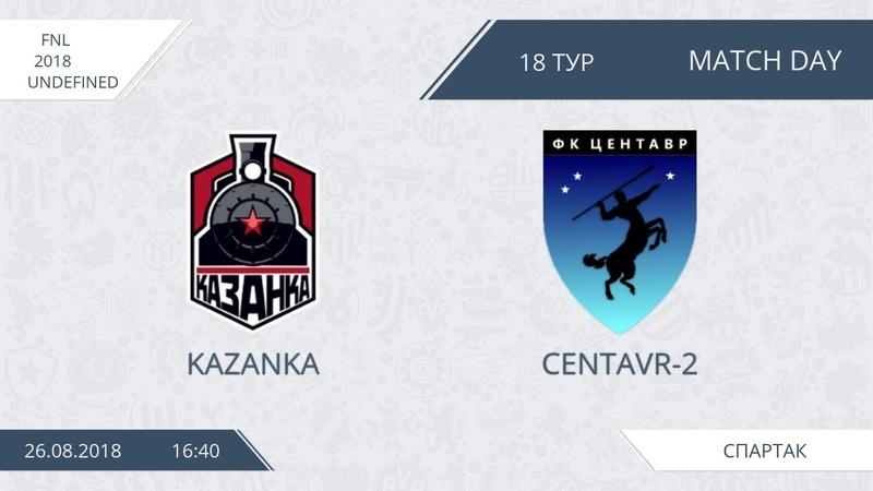 AFL18 Russia FNL Day 18 Kazanka Centavr 2