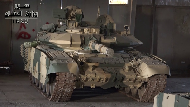 Тридцать пятая бригада 9 й бронетанковой дивизии оснащена российским танком T90