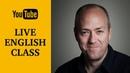 Live English class Phrasal verbs Canguro English