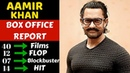 Aamir Khan Box Office Collection Analysis Hit, Blockbuster and Flop Movies List (2001-2018) Part 2
