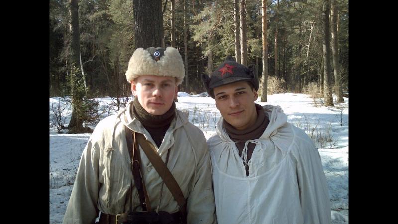 Десантный батя (2008). Нападение финских диверсантов на советскую колонну, январь 1940 года.