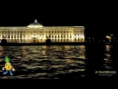 Ночная речная прогулка по Неве и развод мостов в Санкт Петербурге под Лебединое озеро