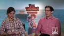 Hotel Transylvania 3 Interview w Selena Gomez and Andy Samberg talk about Families being seperated