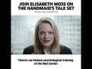 Walk with us. Win an exclusive visit to The Handmaid's Tale Season 2 set and meet Elisabeth Moss.