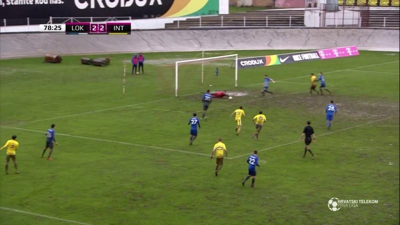 Lokomotiva - Inter-Zapresic 2-3, sazetak (HNL 26. kolo), 17.03.2018. Full HD