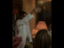Victoria Beckham dancing at her LFW Afterparty