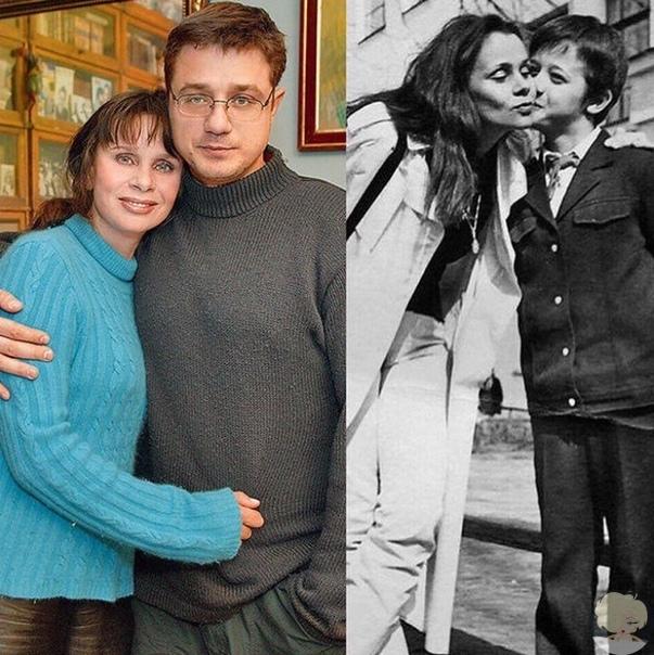 Замечательная Артистка Любовь Полищук с сыном Алексеем