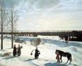 В музей - без поводка / Никифор Крылов Зимний пейзаж