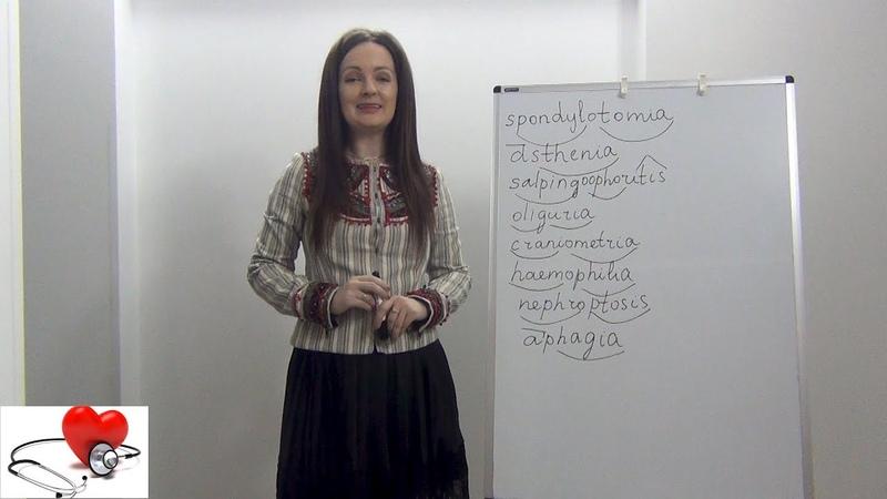 Латинский для медиков. Самоподготовка к зачету по клинической терминологии.