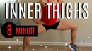 8 Minute BEST INNER THIGHS Workout FAST