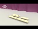 Видеоинструкция по сборке кроватки трансформера Чунга Чанга