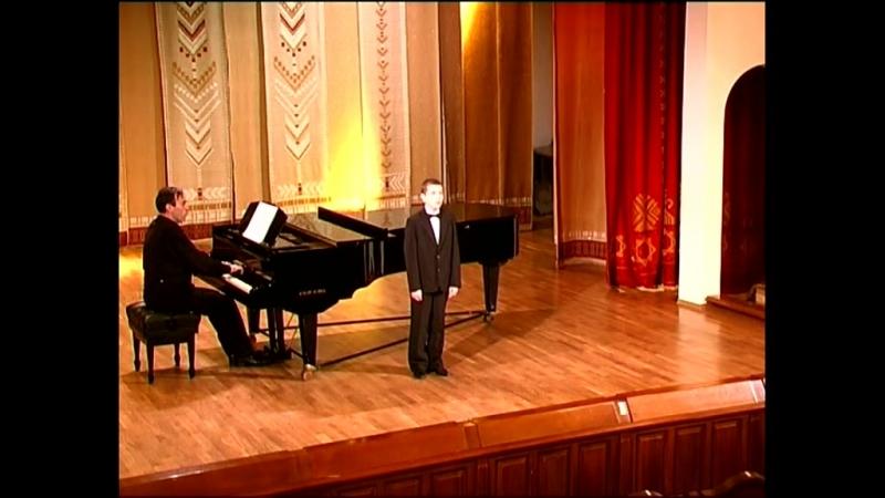 Перголези Ария сопрано №6.Stabat Mater Виктор Воробьев.Концертмейстер И.Боковский.
