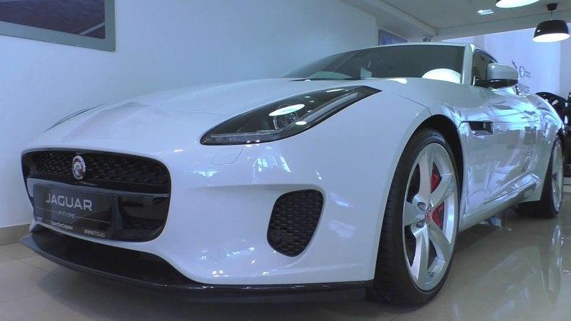 2017 Jaguar F-Type Coupe 3.0L. In Depth Tour.