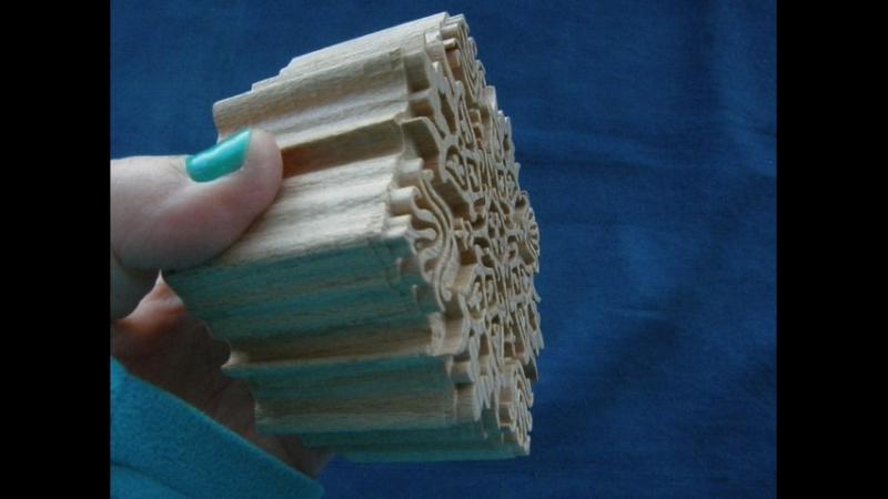 Византийская розетка -деревянный штамп - Штампы от Булавки
