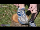 """A Tip from Illumiseen How to Prevent Running Shoe Blisters With a Heel Lock"""" or Lace Lock"""""""