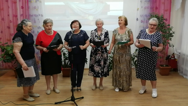 Песня Смуглянка в исполнении коллектива Девчата при ОДП Меридиан