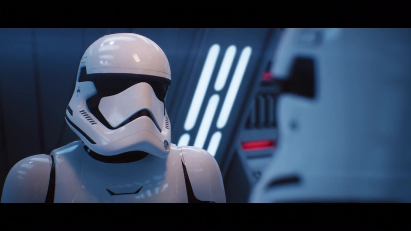 Реалистичное техно-демо Star Wars на движке Unreal Engine 4. Графика будущий игр.