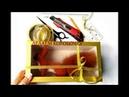 Как сделать подарочную коробку с окошком / Мастер класс