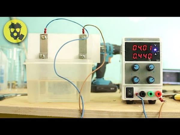 🔥 Какой электролит лучше для получения водорода? Тест и сравнение разных растворов.