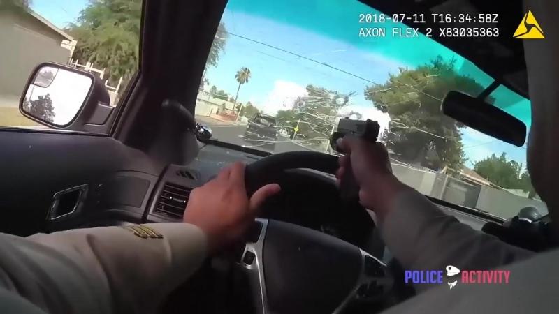 Полиция Лас Вегаса обнародовала кадры погони