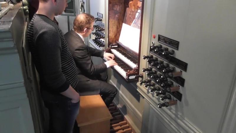 658 J S Bach Chorale prelude Von Gott will ich nicht lassen Leipzig Chorales 8 18 BWV 658 Minne Veldman