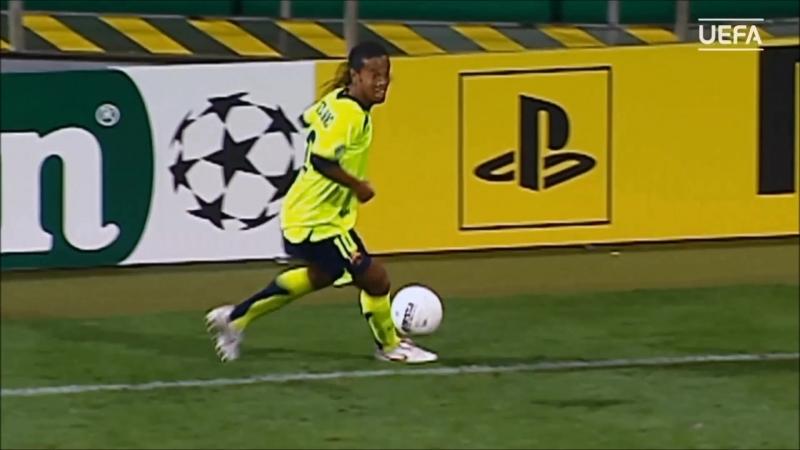 Роналдиньо в Лиге чемпионов