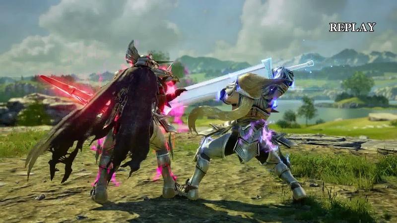 Soul Calibur 6 - Nightmare vs Siegfried Gameplay (1080p 60fps)