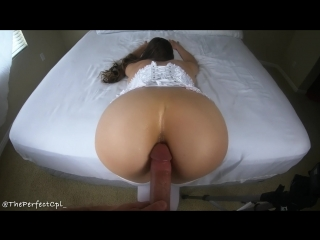 First time anal 10,000 subs celebration sextape from amateur