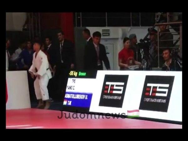 Asian Championships Cadets 2017 ASMATULLOBEKOV Umed (TJK) - YANG Chueh-Ti (TPE)
