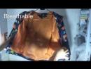 обзор детской куртки с милыми динозаврами