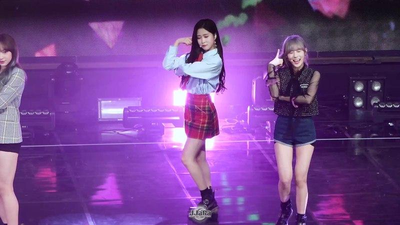[Fancam] 180325 Wonder Girls - Tell me, SNSD - Gee, Kara- Mister covers UZZU PARTY Fanmeeting @ Dayoung