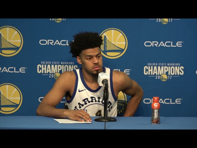 Quinn Cook Postgame Interview GS Warriors vs Kings