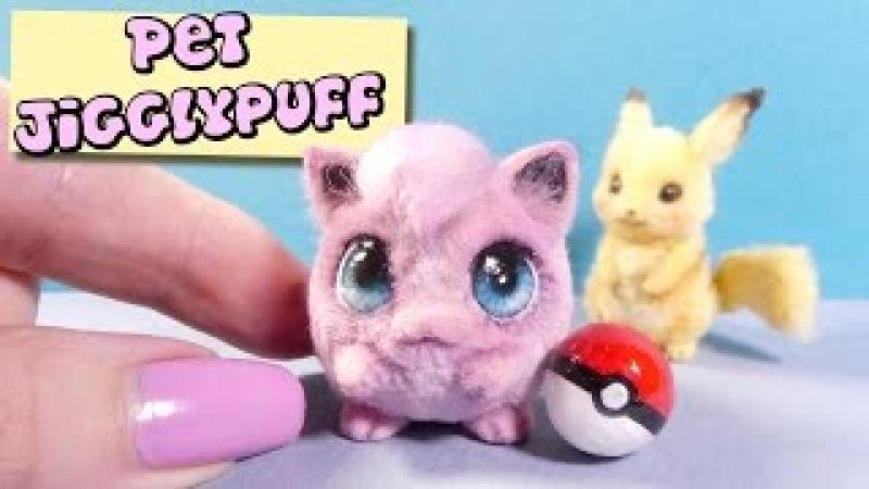 How To Mini Jigglypuff Tutorial DIY Miniature Pokemon