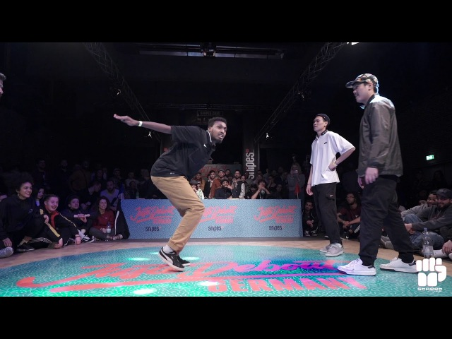 Juste Debout Germany 2018 HipHop 1:4 Final| K.Mifa (Bouni Omar) vs Kingz Squad (B.Bora Wave Son) | Danceproject.info