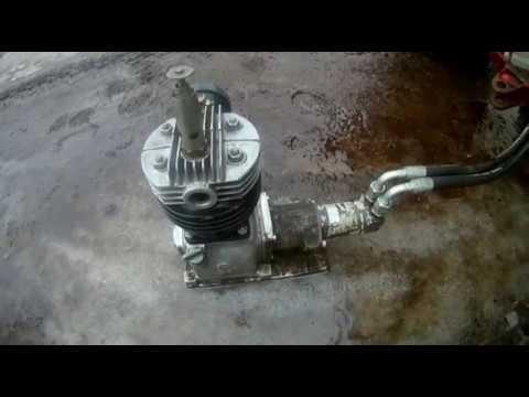 Компрессор для Т-25 / Compressor on T25 на гидроприводе