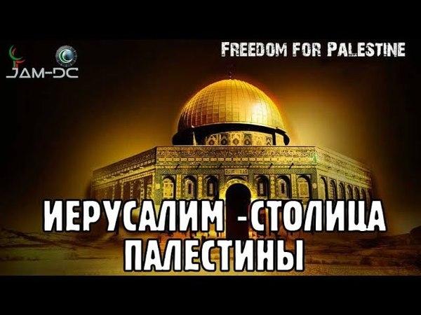 Мусульмане протестуют против признания США Иерусалима столицей Израиля
