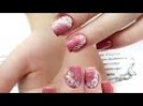 Наращивание ногтей без форм Наращивание на обкусанные ногти Слабонервным не смотреть